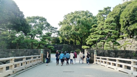 Imperial Palace Gardens Entrance