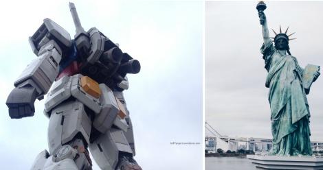 Japhet and Coney Gundam and Lady Liberty